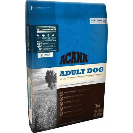 Сухой корм Acana Heritage Adult Dog для взрослых собак с курицей 17 кг