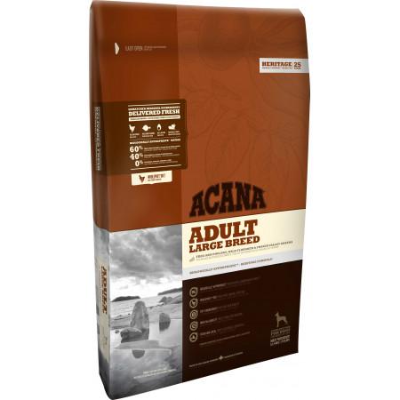 Сухой корм Acana Heritage Adult Large Breed для взрослых собак крупных пород с цыпленком 17 кг