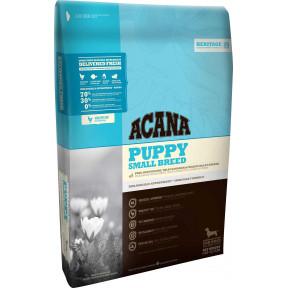 Сухой корм Acana Heritage Puppy Small Breed для щенков мелких пород с цыпленком и индейкой 6 кг