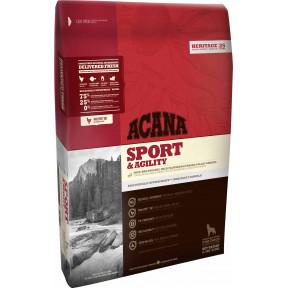 Сухой корм Acana Heritage Sport & Agility для активных собак с курицей 17 кг