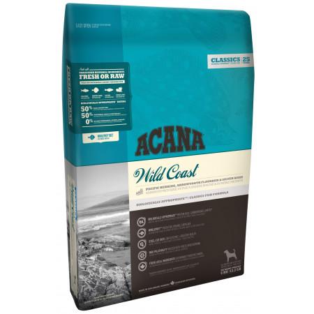 Сухой корм Acana Classic Wild Coast для собак с рыбой и овсом 11.4 кг