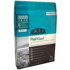 Сухой корм Acana Classic Wild Coast для собак с рыбой и овсом 6 кг
