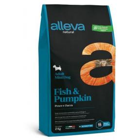 Сухой корм для собак Alleva Natural рыба с тыквой (для мелких пород) 2 кг
