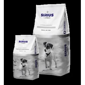 Сухой корм для взрослых собак Sirius Platinum Hypoallergenic Индейка с овощами (для мелких пород) 3 кг