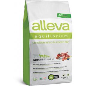 Сухой корм для собак Alleva Equilibrium Sensitive с ягненком и океанической рыбой (для мелких и средних пород) 2 кг