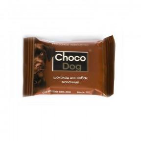 Лакомство для собак VEDA Choco Dog шоколад молочный 15 г
