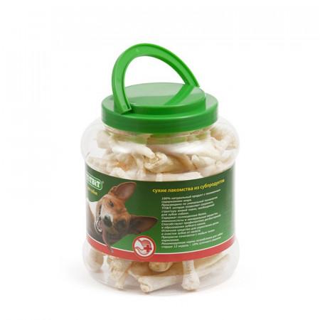 Лакомство для собак Titbit Лапки куриные (пластиковая банка) 4.3 л
