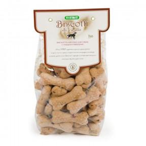 Лакомство для собак Titbit Печенье Бискотти с рубцом говяжьим