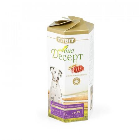 Лакомство для собак Titbit Печенье Био Десерт с печенью стандарт