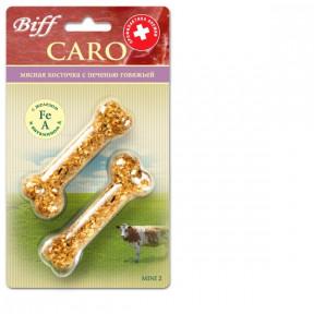 Лакомство для собак Titbit Косточка Caro с печенью говяжьей mini 2 - Б2