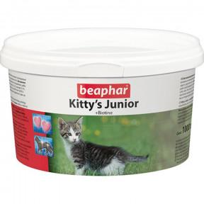 Витамины для котят Beaphar Kitty`s Junior с биотином 1000 табл
