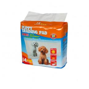 Пеленки для собак впитывающие Hush Pet 60х60 см, 14 штук