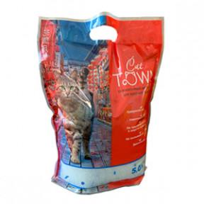Наполнитель впитывающий CAT TOWN силикагелевый 5 л