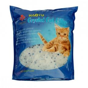 Наполнитель впитывающий Haoyu Crystal Cat Litter силикагелевый 3.6 кг, 8 л
