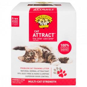 Наполнитель комкующийся Dr.Elsey's Cat Attract для приучения к лотку 9.08 кг