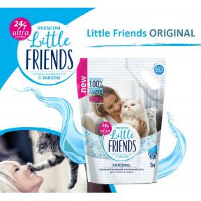 Наполнитель впитывающий Little Friends Premium Original силикагелевый 5 л