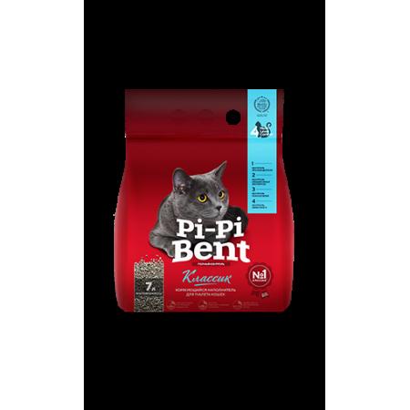 Наполнитель комкующийся Pi-Pi-Bent Классик 3 кг