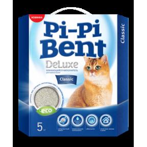 Наполнитель комкующийся Pi-Pi-Bent Deluxe Classic 5 кг