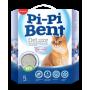 Наполнитель комкующийся Pi-Pi-Bent Deluxe Clean cotton 5 кг
