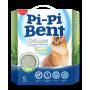 Наполнитель комкующийся Pi-Pi-Bent Deluxe Fresh grass 5 кг