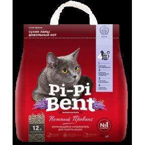 Наполнитель комкующийся Pi-Pi-Bent Нежный прованс 5 кг