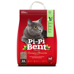 Наполнитель комкующийся Pi-Pi-Bent Сенсация свежести 10 кг
