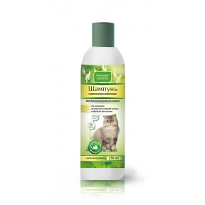 Шампунь Пчелодар Professional с маточным молочком для длинношерстных кошек 250 мл