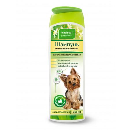 Шампунь Пчелодар Professional с маточным молочком для длинношерстных собак 250 мл