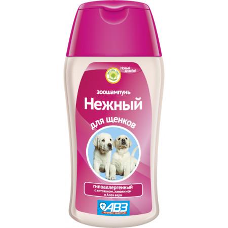 Шампунь Нежный для щенков гипоаллергенный 180 мл