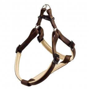 Шлейка для собак Ferplast Daytona P, размер M, обхват шеи 51-55 см, обхват груди 53 - 61 см, коричневый