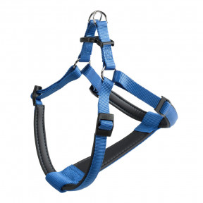 Шлейка для собак Ferplast Daytona P, размер M, обхват шеи 51-55 см, обхват груди 53 - 61 см, синий