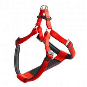 Шлейка для собак Ferplast Daytona P, размер S, обхват шеи 42-48 см, обхват груди 43 - 52 см, красный