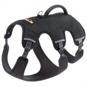 Шлейка для собак Ferplast Ergotrekking P, размер L, обхват шеи 50 - 60 см, обхват груди 70 - 80 см, обхват талии 60 - 70 см, чёрный