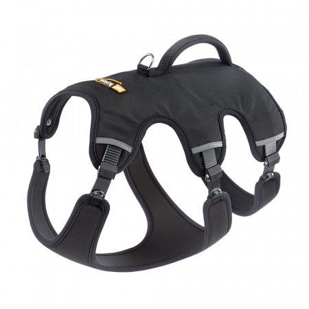Шлейка для собак Ferplast Ergotrekking P, размер M, обхват шеи 37 - 47 см, обхват груди 55 - 65 см, обхват талии 50 - 60 см, чёрный