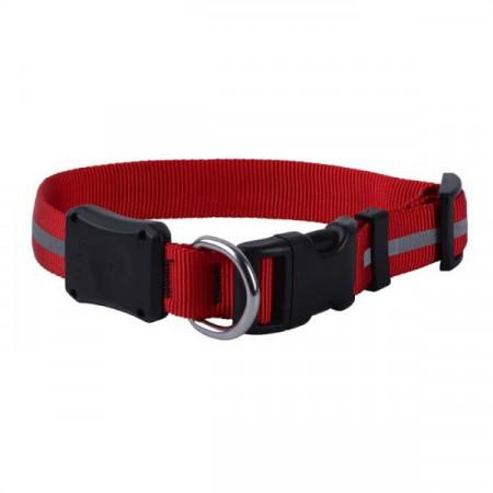 Светодиодный ошейник для собак NiteIze NiteDawg, размер L, обхват шеи 46-69 см, красный