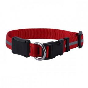 Светодиодный ошейник для собак NiteIze NiteDawg, размер M, обхват шеи 33-46 см, красный