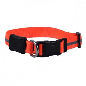 Светодиодный ошейник для собак NiteIze NiteDawg, размер M, обхват шеи 33-46 см, оранжевый