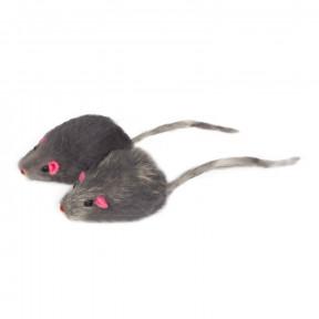 Игрушка для кошек Triol M002G Мышь серая, 45-50 мм