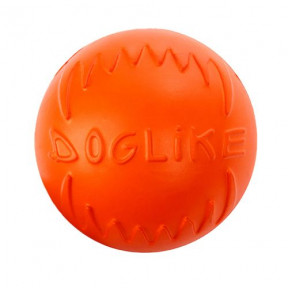 Игрушка для собак Doglike Мяч средний (оранжевый)