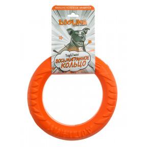 Игрушка для собак Doglike Снаряд Tug&Twist Кольцо 8-мигранное Малое для профессиональной дрессировки (оранжевый)