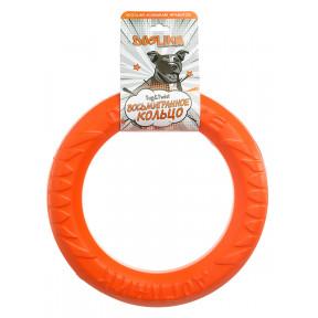 Игрушка для собак Doglike Снаряд Tug&Twist Кольцо 8-мигранное Среднее для профессиональной дрессировки (оранжевый)