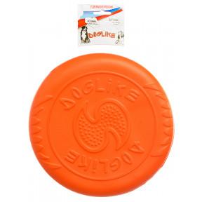 Игрушка для собак Фрисби Doglike Летающая тарелка средняя (оранжевый)