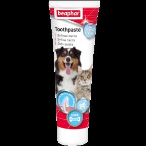 Зубная паста Beaphar Toothpaste для собак и кошек со вкусом печени 100 г