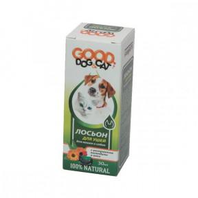 Лосьон для ушей для кошек и собак Good Dog & Cat 30 мл