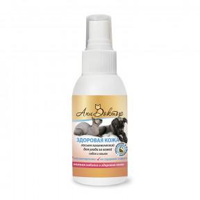 Лосьон гигиенический Пчелодар АпиДоктор Здоровая кожа для очистки кожи для собак и кошек 100мл