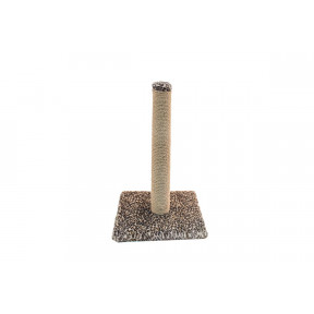 Когтеточка-столбик для кошек Дарэлл ECO 8293 джут 30х30х62 см