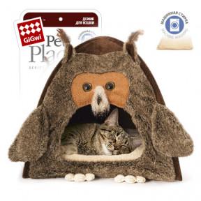 Домик для собак и кошек GiGwi Домик Сова (75061) 40х45 см