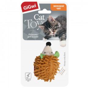 Игрушка для кошек GiGwi Melody Chaser Ежик со звуковым чипом (75033) 7 см