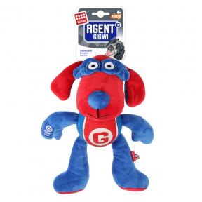 Игрушка для собак GiGwi Agent GiGwi Собака с теннисным мячом и пищалкой (75465) 28 см