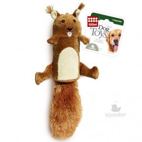 Игрушка для собак GiGwi Dog Toys Белка с большой пищалкой (75015) 32 см